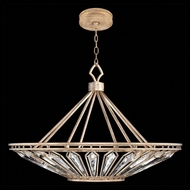 Fine Art Handcrafted Lighting 885440-2 Westminster Gold LED Drop Ceiling Light Fixture