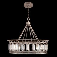 Fine Art Handcrafted Lighting 885540-1 Westminster Brown LED Drop Lighting Fixture