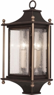 Fine Art Lamps 886481ST Highland Park Bronze Outdoor Wall Lighting Sconce