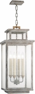 Fine Art Lamps 886882ST Wiltshire Traditional Weatered Grey Exterior Pendant Lighting