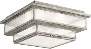 Fine Art Handcrafted Lighting 887382ST Wiltshire Traditional Weatered Grey Exterior Ceiling Lighting