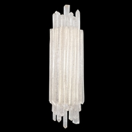 Fine Art Handcrafted Lighting 887450 Diamantina Silver LED Wall Light Sconce