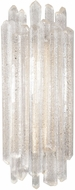 Fine Art Lamps 887550ST Diamantina Contemporary Silver Wall Lighting Fixture