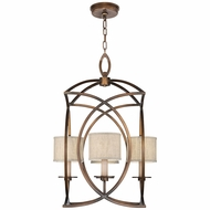 Fine Art Lamps 887740-11 Cienfuegos Bronze LED Foyer Light Fixture