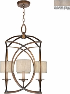 Fine Art Lamps 887740-21ST Cienfuegos Gray Foyer Light Fixture