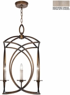 Fine Art Lamps 887740-2ST Cienfuegos Gray Foyer Lighting Fixture