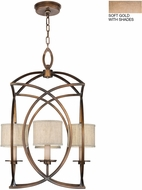 Fine Art Lamps 887740-31ST Cienfuegos Gold Entryway Light Fixture