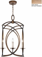Fine Art Lamps 887740-3ST Cienfuegos Gold Foyer Lighting