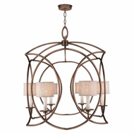 Fine Art Lamps 887840-11 Cienfuegos Modern Bronze LED Entryway Light Fixture