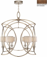 Fine Art Lamps 887840-11ST Cienfuegos Bronze Foyer Light Fixture
