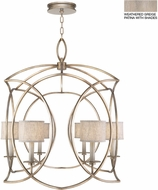 Fine Art Lamps 887840-21ST Cienfuegos Gray Entryway Light Fixture