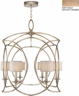 Fine Art Lamps 887840-3ST Cienfuegos Gold Foyer Lighting Fixture