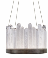 Fine Art Lamps 888140-3ST Lior Contemporary Bronze LED 21  Hanging Light
