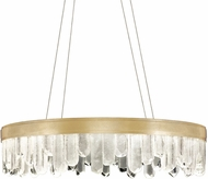 Fine Art Lamps 888240-2ST Lior Contemporary Gold LED 30.5  Hanging Pendant Light