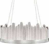 Fine Art Lamps 888340-1ST Lior Contemporary Silver LED 30.5 Drop Ceiling Lighting