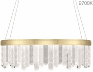 Fine Art Lamps 888540-21ST Lior Modern Gold LED 41  Hanging Pendant Lighting