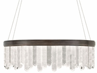Fine Art Lamps 888540-3ST Lior Contemporary Bronze LED 41  Hanging Light Fixture