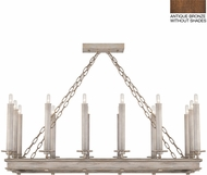 Fine Art Lamps 888840-1ST Cienfuegos Bronze Island Light Fixture