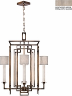 Fine Art Lamps 889040-21ST Cienfuegos Gray Foyer Light Fixture