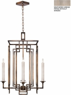 Fine Art Lamps 889040-2ST Cienfuegos Gray Foyer Lighting Fixture