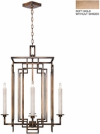 Fine Art Lamps 889040-3ST Cienfuegos Gold Foyer Lighting