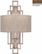 Fine Art Lamps 889350-11ST Cienfuegos Bronze Wall Sconce Lighting