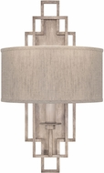 Fine Art Lamps 889350-21ST Cienfuegos Gray Lighting Wall Sconce