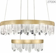 Fine Art Lamps 889640-21ST Lior Modern Gold LED 30.5  Ceiling Light Pendant