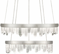 Fine Art Lamps 889740-1ST Lior Contemporary Silver LED 41  Pendant Light