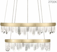 Fine Art Lamps 889740-21ST Lior Modern Gold LED 41  Lighting Pendant