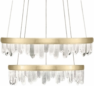 Fine Art Lamps 889740-2ST Lior Contemporary Gold LED 41  Pendant Lamp