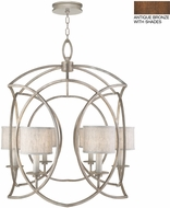 Fine Art Lamps 889840-11ST Cienfuegos Bronze Foyer Light Fixture