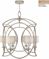 Fine Art Lamps 889840-31ST Cienfuegos Gold Foyer Light Fixture