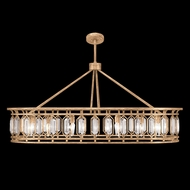 Fine Art Handcrafted Lighting 889940-2 Westminster Modern Gold LED Ceiling Pendant Light