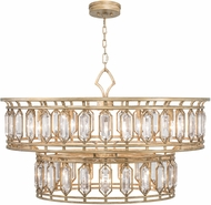 Fine Art Lamps 890140-2ST Westminster Gold Pendant Lighting Fixture