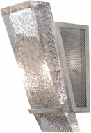 Fine Art Handcrafted Lighting 890750-12 Crownstone Contemporary Silver LED Wall Lighting