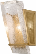 Fine Art Lamps 890750-22ST Crownstone Modern Gold Lamp Sconce