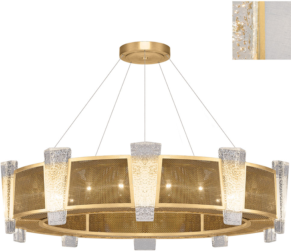 Fine Art Lamps 891040-21ST Crownstone Contemporary Gold 45\