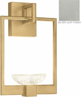 Fine Art Lamps 893550-1ST Delphi Contemporary Silver LED Wall Lighting