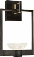 Fine Art Handcrafted Lighting 893550-3 Delphi Contemporary Black LED Wall Sconce