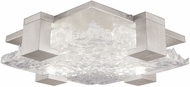 Fine Art Lamps 895440-21 Terra 895440-21 Silver / Clear LED Indoor / Outdoor Ceiling Light Fixture