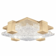 Fine Art Handcrafted Lighting 895440-31 Terra Contemporary Gold LED Home Ceiling Lighting