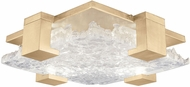 Fine Art Lamps 895440-31 Terra 895440-31 Gold / Clear LED Indoor / Outdoor Ceiling Light Fixture