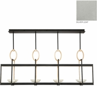Fine Art Lamps 895540-1ST Delphi Modern Silver LED Kitchen Island Lighting