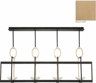 Fine Art Lamps 895540-2ST Delphi Contemporary Gold LED Kitchen Island Light