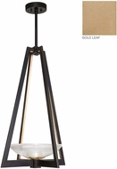 Fine Art Lamps 896040-2ST Delphi Modern Gold LED Foyer Light Fixture