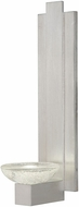 Fine Art Lamps 896350-1ST Delphi Contemporary Silver LED Lighting Wall Sconce