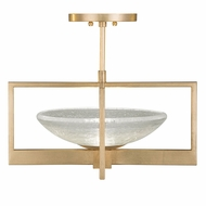 Fine Art Handcrafted Lighting 896440-2 Delphi Contemporary Gold LED Ceiling Lighting