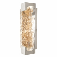 Fine Art Handcrafted Lighting 896650-22 Terra Contemporary Silver LED Wall Lighting Fixture