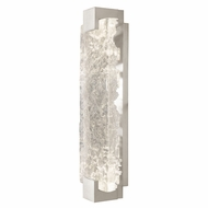 Fine Art Handcrafted Lighting 896750-21 Terra Contemporary Silver LED Wall Lighting